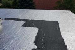 Naprawa dachu z papy 1